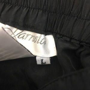 Vintage Pants - Vintage Silk High Waisted Pants size Large
